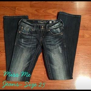 Miss Me Jeans, Size 25.😊